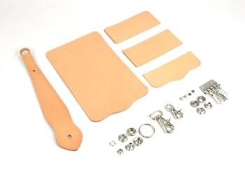 Key Case with Key Fob Kit - Hermann Oak Tooling Leather