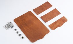 Key Case Kit - Hermann Oak Harness Leather (5 sets)