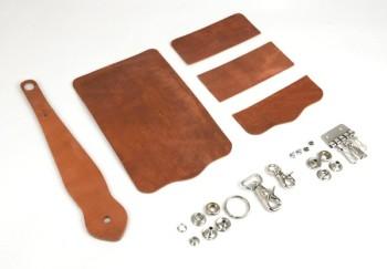 Key Case with Key Fob Kit -Hermann Oak Harness Leather