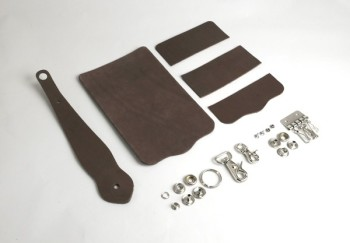 Key Case with Key Fob Kit - Oiled Leather