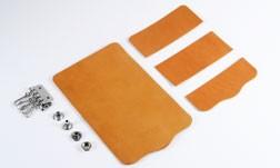 Key Case Kit - Hermann Oak Bridle Leather