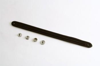 Mystery Braid Leather Bracelet Kit - 3 Strands(L) - Tanned Leather