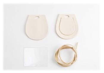 Luggage Tag Kit -  Horseshoe  < LC Tooling Leather Standard >