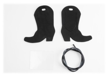 Luggage Tag Kit - Western Boots < LC Tooling Leather Standard >
