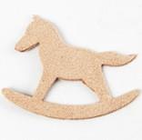 Fairy Tale Charm <Backing Charm> Rocking Horse