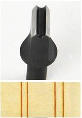 Swivel Knife - Double Line Blade No.1 (2 mm)