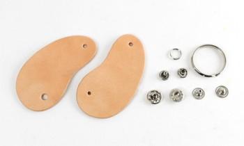 Beans Key Case Kit - Leather Glazed Tochigi