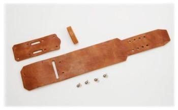 Wristband A2 Kit - Hermann Oak Harness Leather(5 sets)