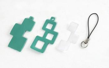 Locket Strap Kit <Block>LC Premium Dyed Leather Struck Through