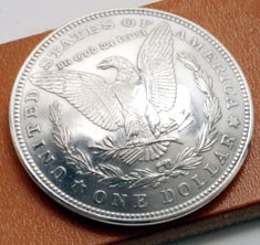 Morgan Dollar 1921 (Reverse) XF/AU <Loop Back>