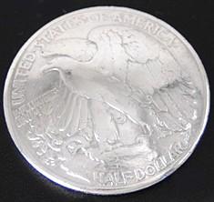 Old Walking Liberty Half Dollar Eagle <Loop Back>