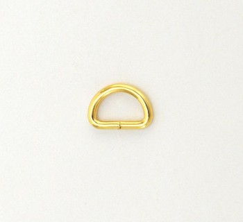 D Ring - 10 mm - Gold