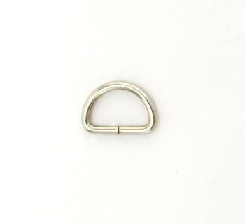 D Ring - 12 mm - Nickel