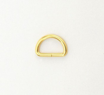 D Ring - 12 mm - Gold