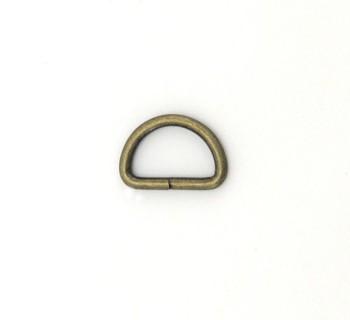 D Ring - 12 mm - Antique