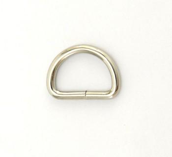 D Ring - 18 mm - Nickel