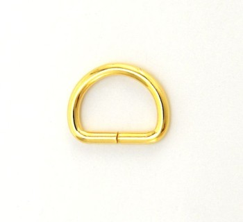 D Ring - 18 mm - Gold