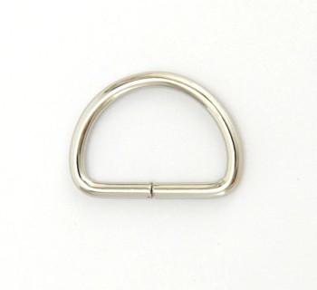 D Ring - 24 mm - Nickel