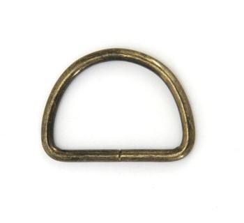 D Ring - 30 mm - Antique