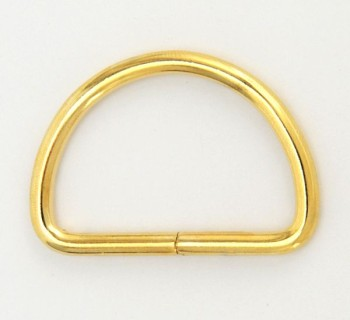 D Ring - 40 mm - Gold