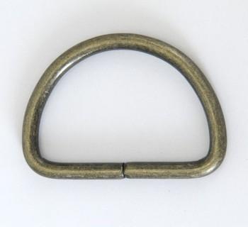 D Ring - 40 mm - Antique