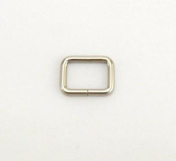 Strap Keeper Loops - 12 mm - Nickel