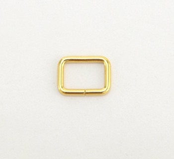 Strap Keeper Loops - 12 mm - Gold