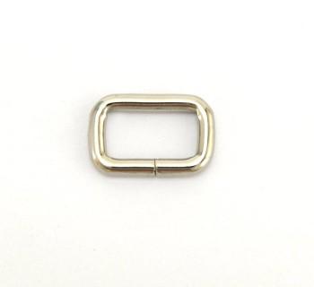 Strap Keeper Loops - 15 mm - Nickel