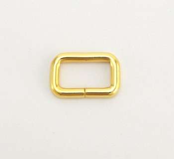 Strap Keeper Loops - 15 mm - Gold