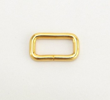 Strap Keeper Loops - 18 mm - Gold