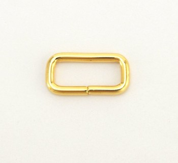 Strap Keeper Loops - 21 mm - Gold