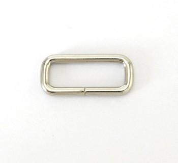 Strap Keeper Loops - 24 mm - Nickel