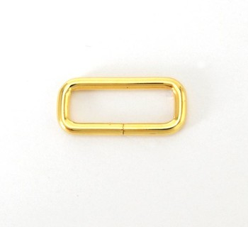 Strap Keeper Loops - 24 mm - Gold