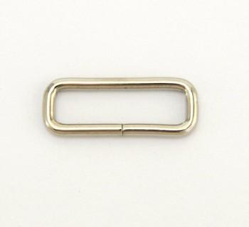 Strap Keeper Loops - 30 mm - Nickel