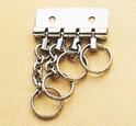 Four Key Rings  (1 pc)