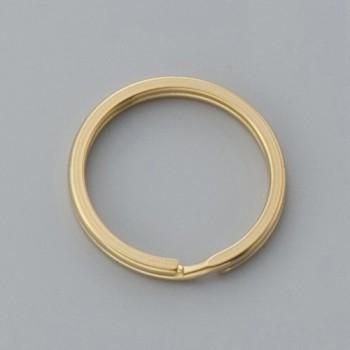 Flat Double Split Key Ring