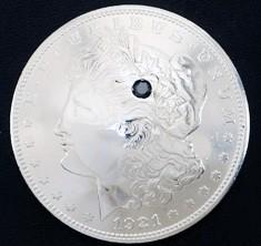 Old Morgan Dollar 1921 Black Diamond (1 stone)