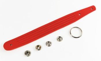 Braided Keychain Kit - LC Premium Dyed Leather Struck Through(1 set)
