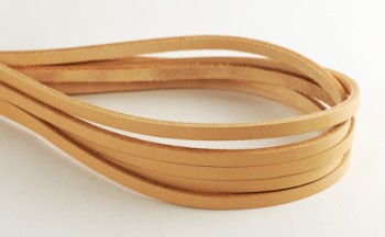 Hermann Oak Tooling Leather Lace 4 mm (10 straps)