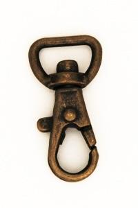 Swivel Snap Hook 12 mm Antique(2 pcs)