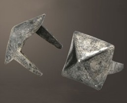 "Pyramid Spot - Relic Nickel <1/4"">(1000 pcs)"