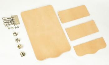 Key Case Kit - Leather Glazed Himeji