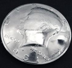 Old Kennedy Half Dollar 1971 (Obverse) <Screw Back>