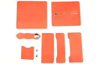 LC M Long Wallet Kit - Various Color Leather(5 sets)
