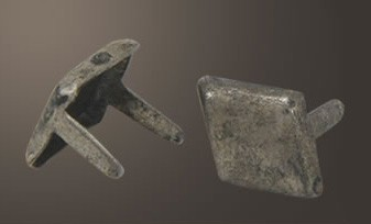 "Diamond Spot - Relic Nickel <1/4"">"