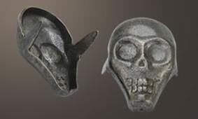 Skull Spot - Relic Nickel <24mm>