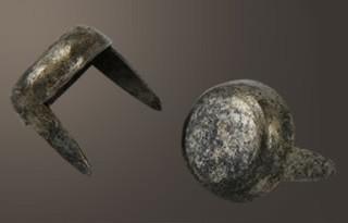 """Flat Head Spot - Relic Nickel <1/2"""">(100 pcs)"""