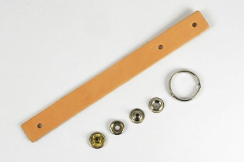 Loop Key Strap Kit - Hermann Oak Tooling Leather