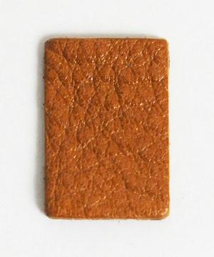 Leather Label (Square Shape S) - Gallo(5 pcs)