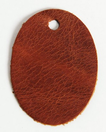 Leather Tag (Oval Shape) - LC Mostro(1 pc)